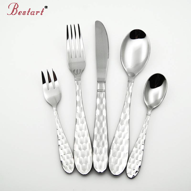 Fashional cutlery set 18/10 stainless steel flatware set