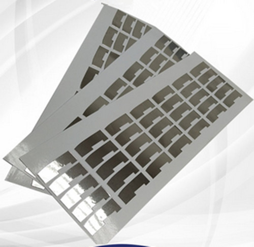 Manufacturer die-cutting any shapes self-adhesive aluminum foil sheet