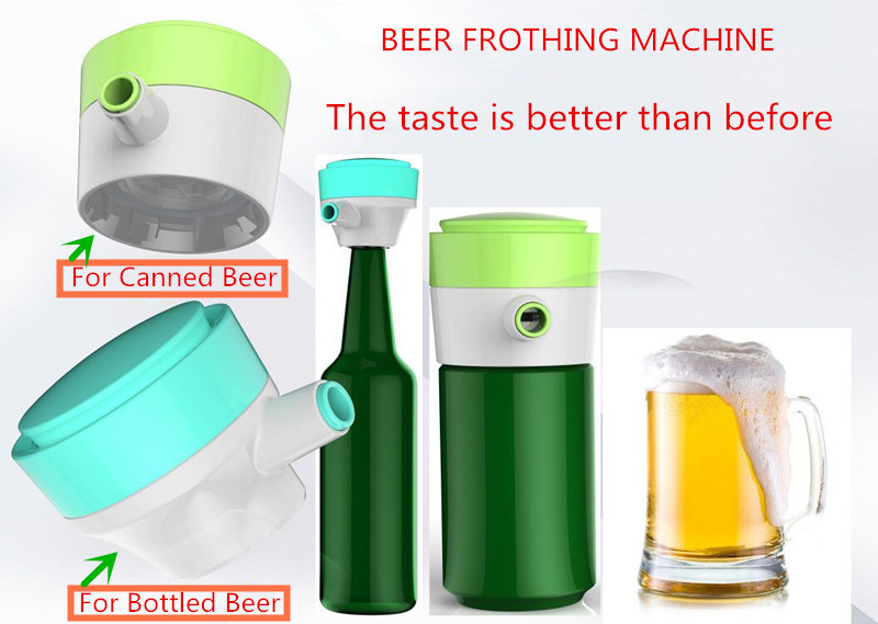 beer frothing machine