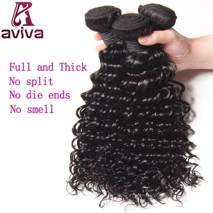 Deep Wave Remy Human Hair Weft