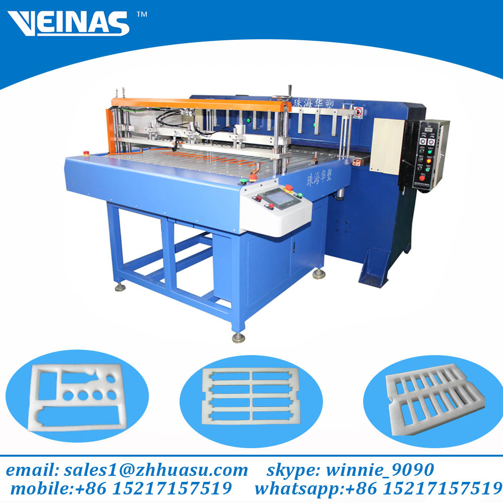 Veinas advanced Expanded Polyethylene Foam punching machinery