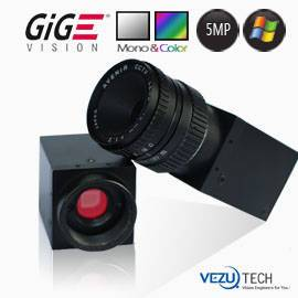 5Mp GigE Industrial Camera for Inspection and Machine Vision