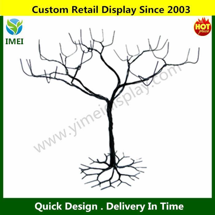 black large jewelry tree stand