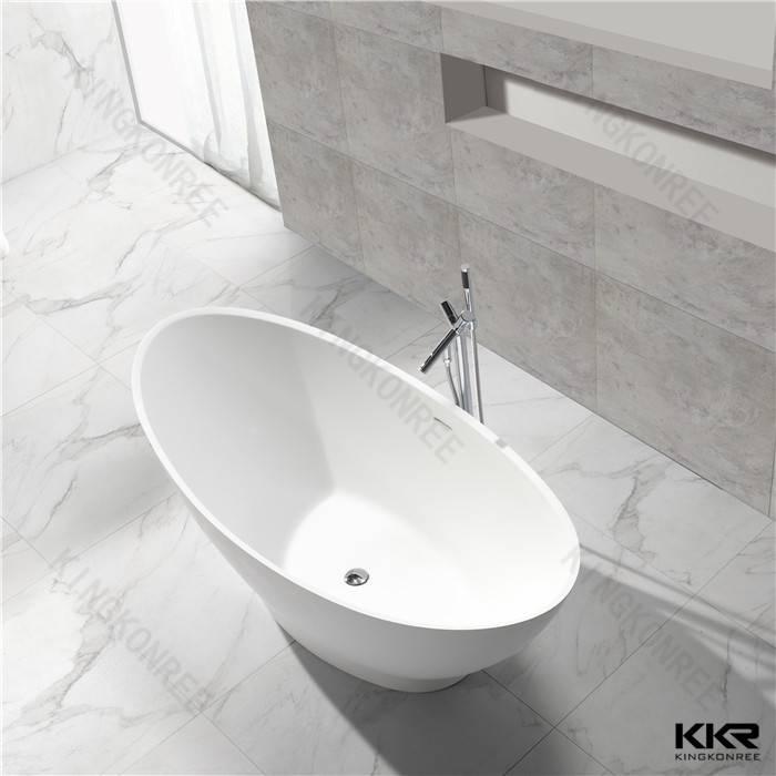 KKR manufacturer resin stone small round bathtubs