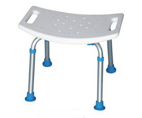 Adjustable Aluminum shower stool