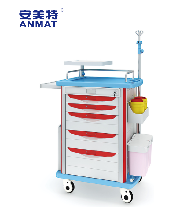 JH-ET750-01HOT SALE hospital medical equipment emergency trolley