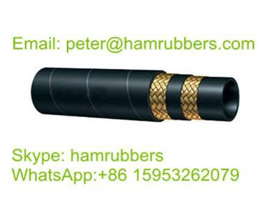 SAE 100R16 Wire Braided Hydraulic Hose