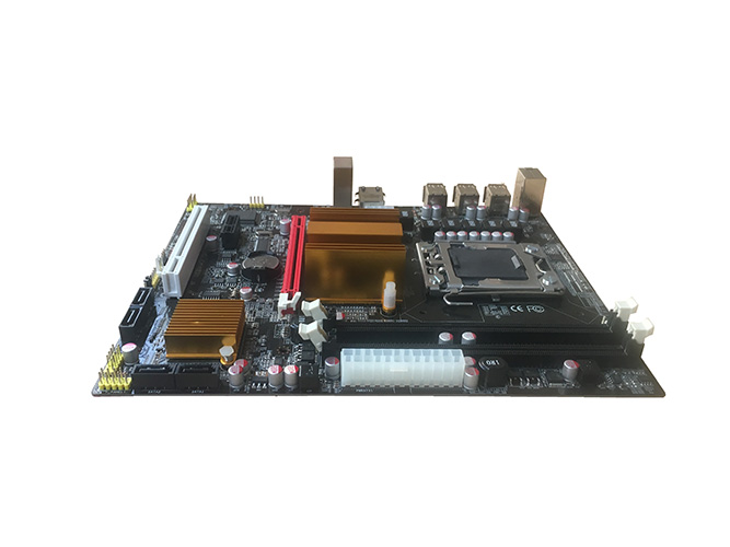 computer motherboard X58v1.0 LGA1366