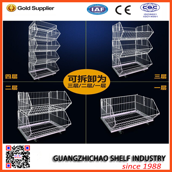 supermarket display wire rack