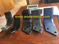 rotary plough blade