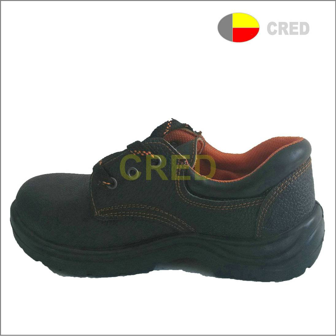 T055 leather  industrial safety shoes