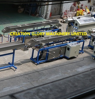 Leading technology PMMA solid bar plastic extrusion production line