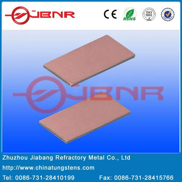 Copper copper molybdenum copper Microelectronic packages Body materials