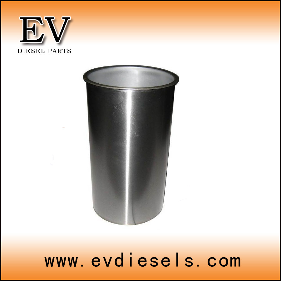 Mitsubishi engine parts  4D35 4D34 4D33 4D32 4D31 cylinder liner for overhauling