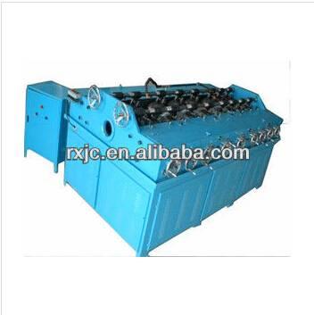 Steel bar straightener machine