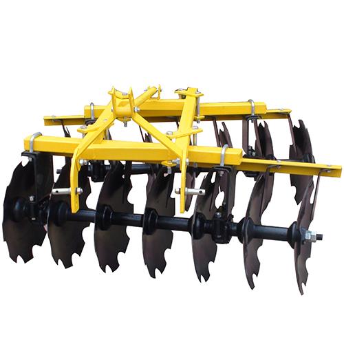 traction-suspension harrow