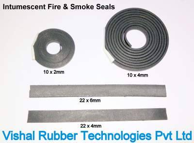 Intumescent Fire & Smoke Rubber Seal