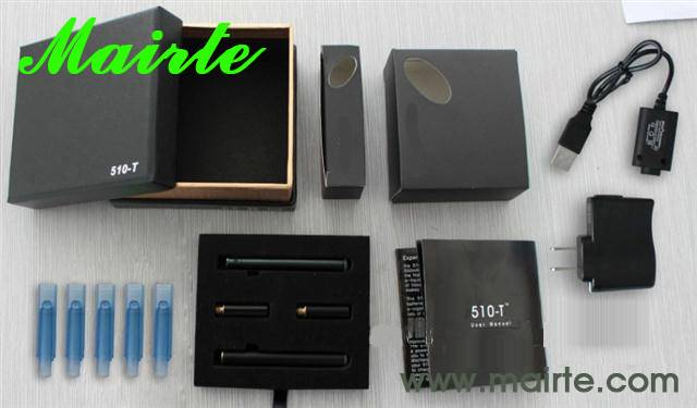 Hot selling Huge Vapor E-Cigarette 510 with Rechargeable (510)