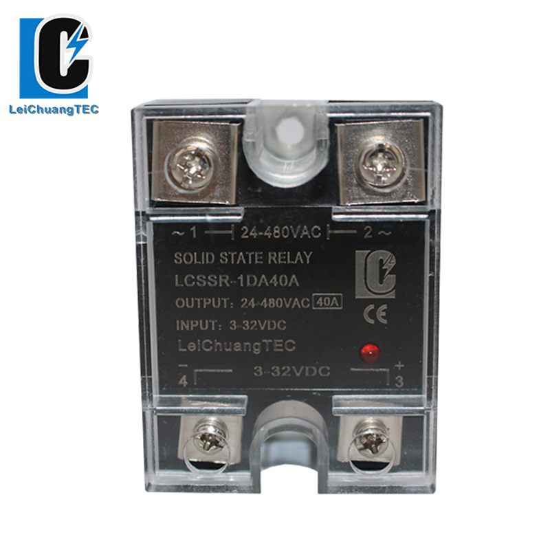 10A-120A SSR Single phase Solid state relay DC control DA SSR, 3-32VDC to 24-280VDC