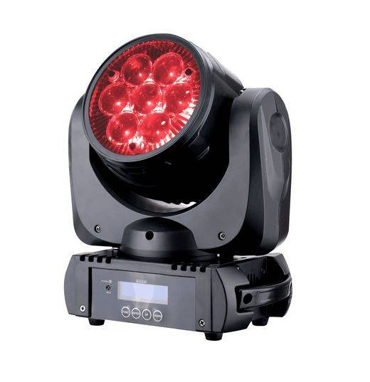 LED Moving Head Wash stage lights 7pcs*10W RGBW zoom led dj light stage light effect 10%off Free Shi