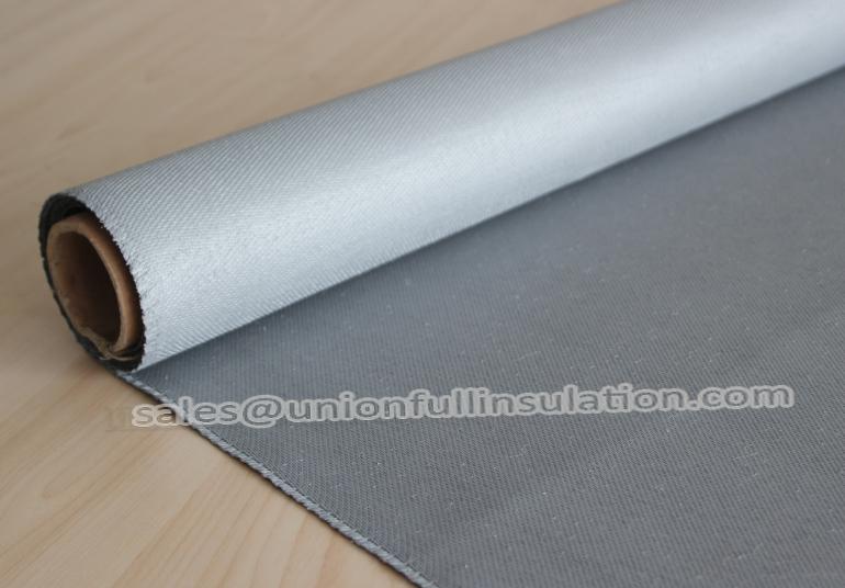 4b00bdd55fee Fireproof 1050g Silicone Coated Fiberglass Fabric Grey Color ...
