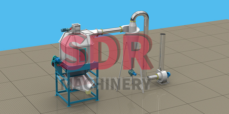 Shindery counter flow cooler,wood pellet cooler machine