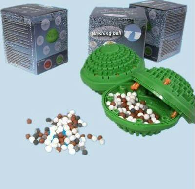 negative ion far infrared green washing ball