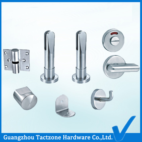Wholesale Durable Bathroom Cubicle Hardware Toilet Partition Set