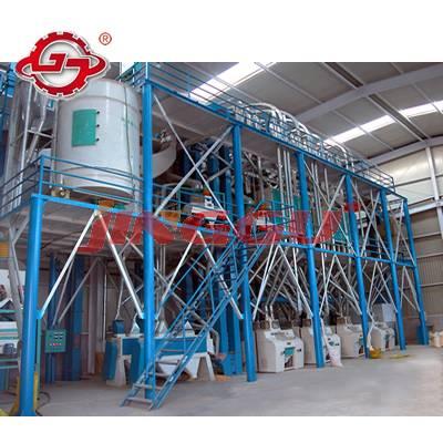Maize Flour Milling Equipment,200T/D Complete Set Mazie Milling Equipment