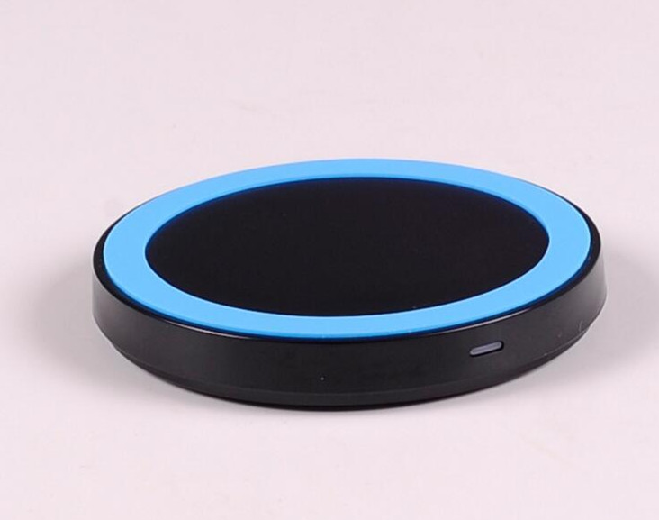 High Quality 5 Colors Universal Qi Wireless Power Charging Charger Pad For Mobile Phone for iPhone 6