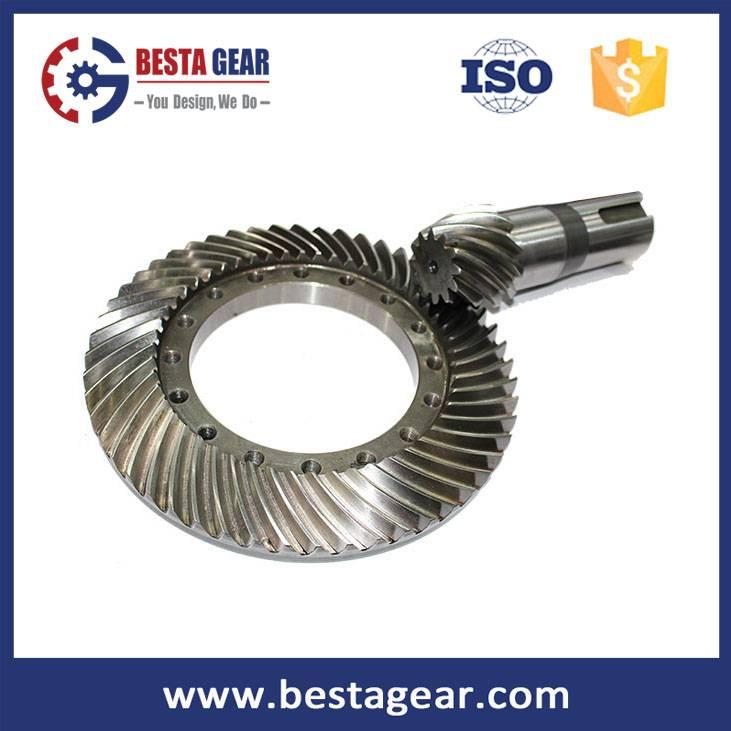 Straight bevel gear/Spiral bevel gear/Hypoid gear supplier