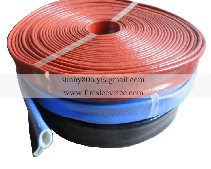hydraulic pipe hose high temperature protection sleeve