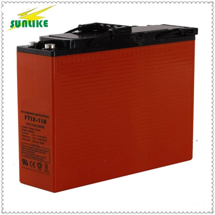 Factory Offer Ocean Front Terminal Battery 12V100ah Deep Cycle Battery