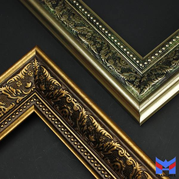 Waterproof Environmental Friendly Decorative picture frame ps moulding