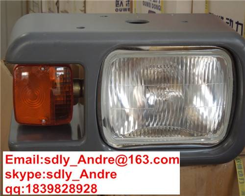 XCMG XGMA SDLG CHANGLIN LIUGONG LONGKING FOTON WHEEL LOADER SPARE PARTS  Front Right and Left Lamp A