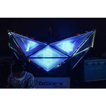 Fashion and cool LED DJ booth P6