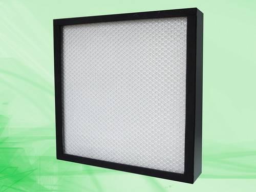 Mini-pleat HEPA filter