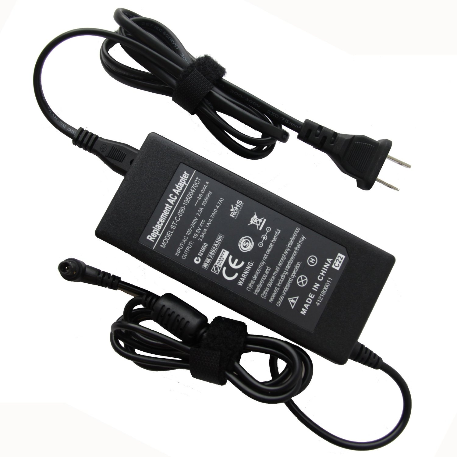 Input 110 240V 50 60HZ 24W 12V 2A AC DC Laptop power adapter