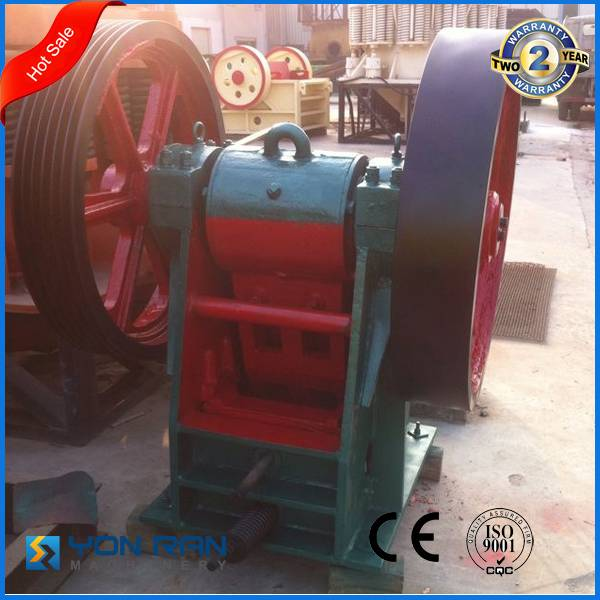 China made mini lab jaw crusher 20-35TPH capacity with 2years guarantee