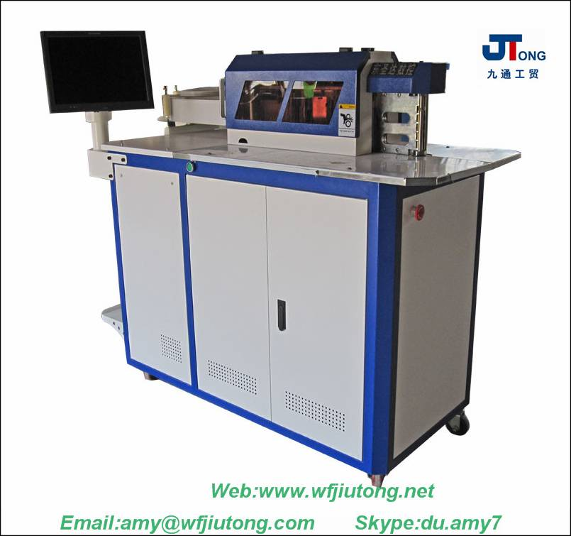 channel letter bending machine for aluminum