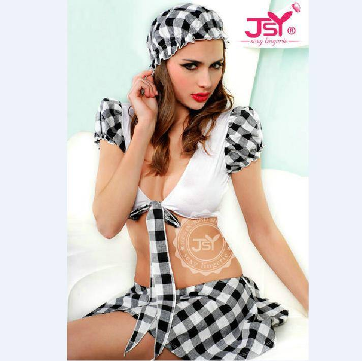 JSY sexy lingerie factory wholesale High quality fashion japanese school girl sexy costume lingerie