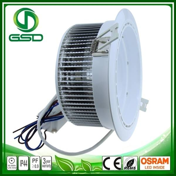 In warm white led downlight 650lm and ra>85