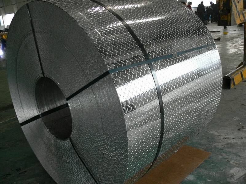 ONE BAR TREAD aluminum sheets and plates
