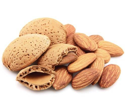 Almonds shelling machine