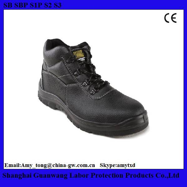 Working Safety Shoes Manufacturers/Hot Selling Leather Safety Shoes/Boots