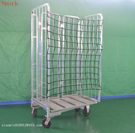 colorful galvanized roll trolley XHC-14