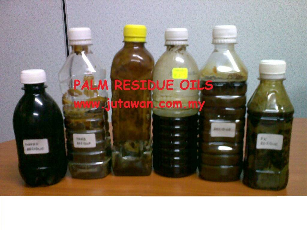 Palm Residue Oil