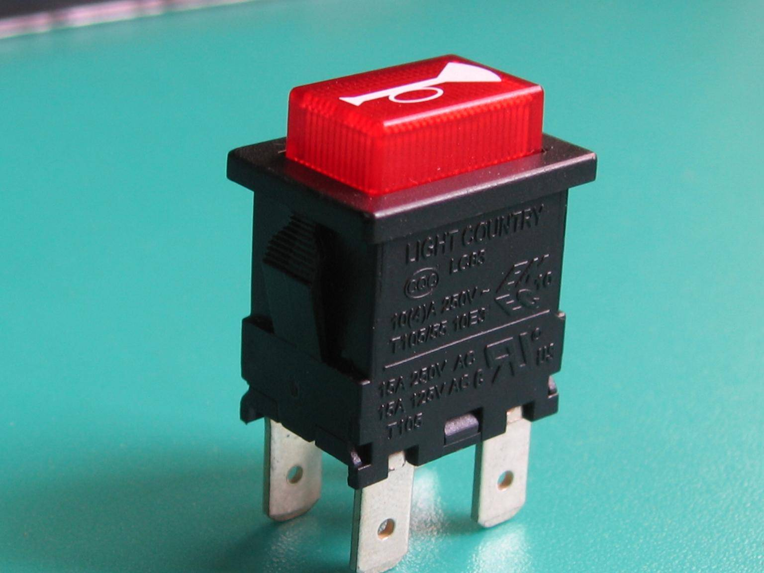 LC83 series waterproof square push button switch with UL VDE ENEC