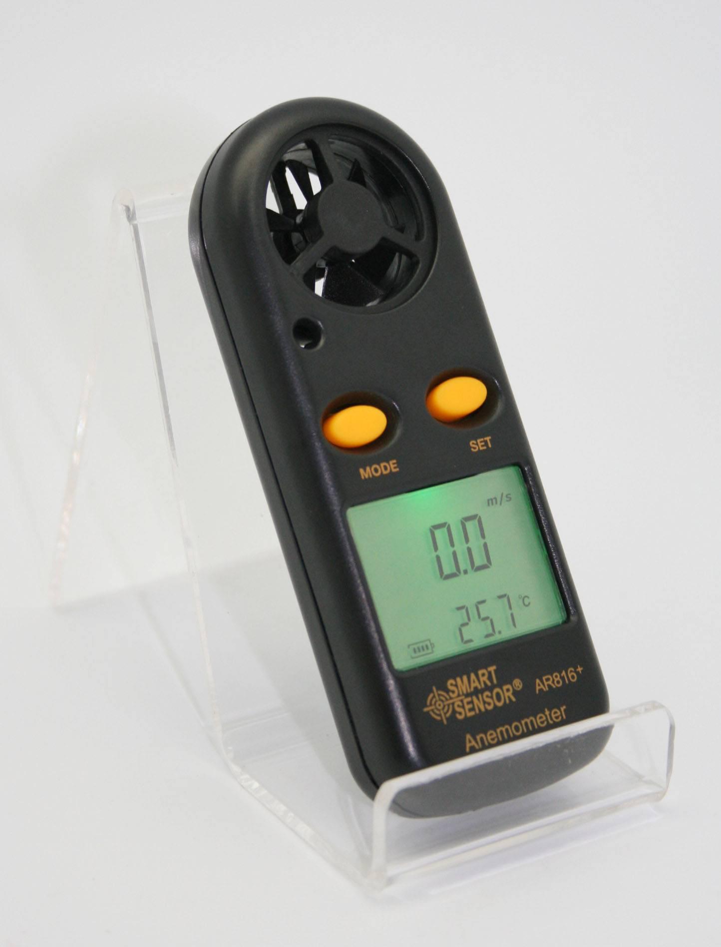 Smart Sensor Air Flow Anemometer AR816+