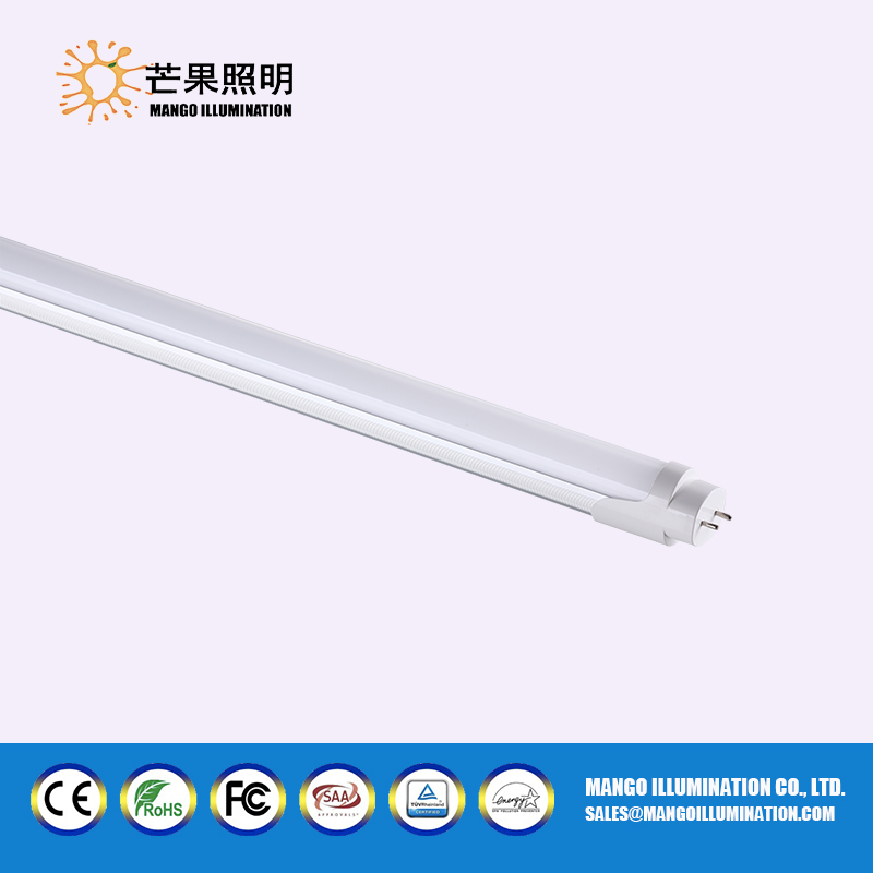 CE RoHS Compatible magnetic ballast T8 LED oval tube 120cm 4ft 18w